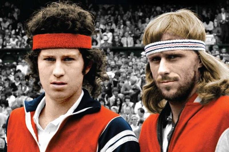 Borg e McEnroe, la più grande sfida della storia del tennis
