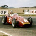 Stirling Moss sulla Maserati