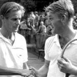 Tappy Larsen con Lew Hoad