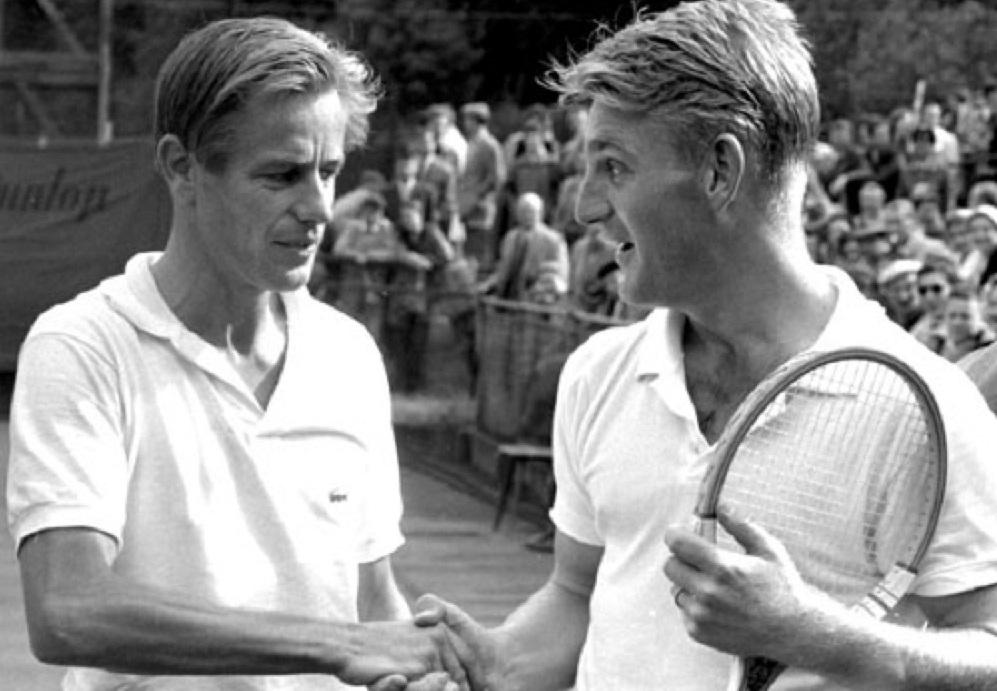 Tappy Larsen, il tennis e gli orrori della guerra