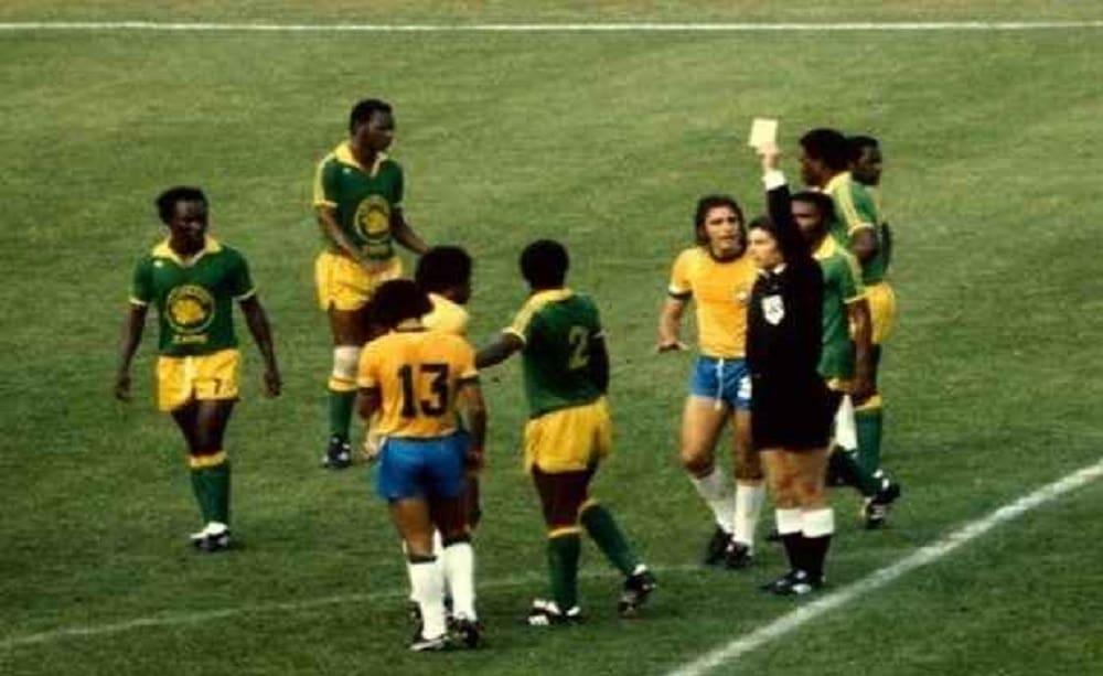 Brasile – Zaire e quel calcio di punizione al contrario