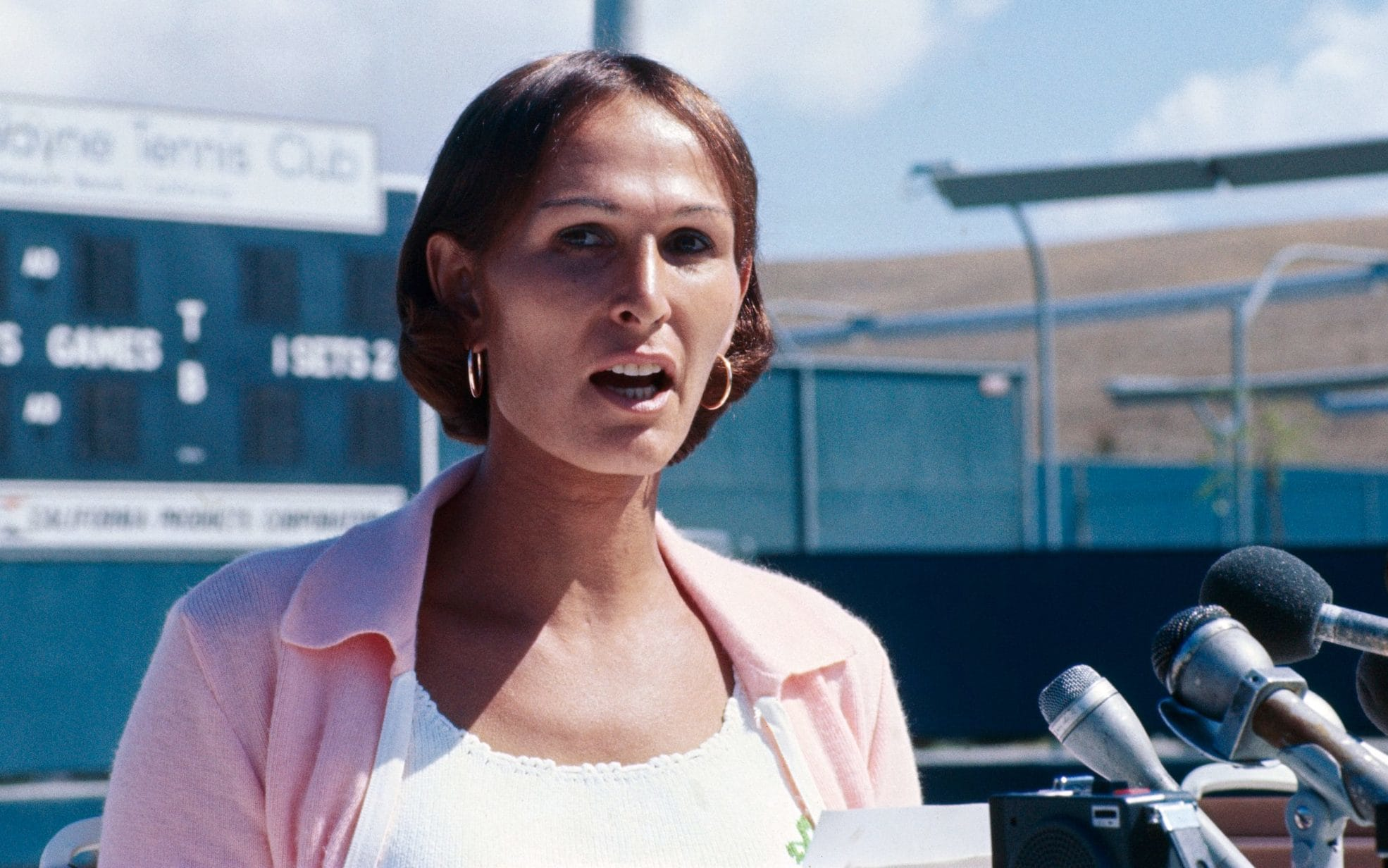 Renée Richards, le due vite di una tennista