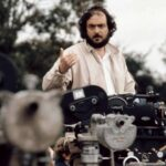 Stanley Kubrick sul set