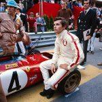 Jacky Ickx e la Ferrari